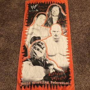Vintage WWF '98 Towel